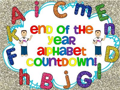 photo of: End of the Year Countdown through the Alphabet: Z to A at Kindergarten Smorgasboard
