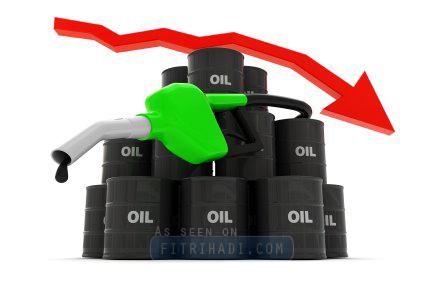 harga minyak ron 97 turun 20 sen