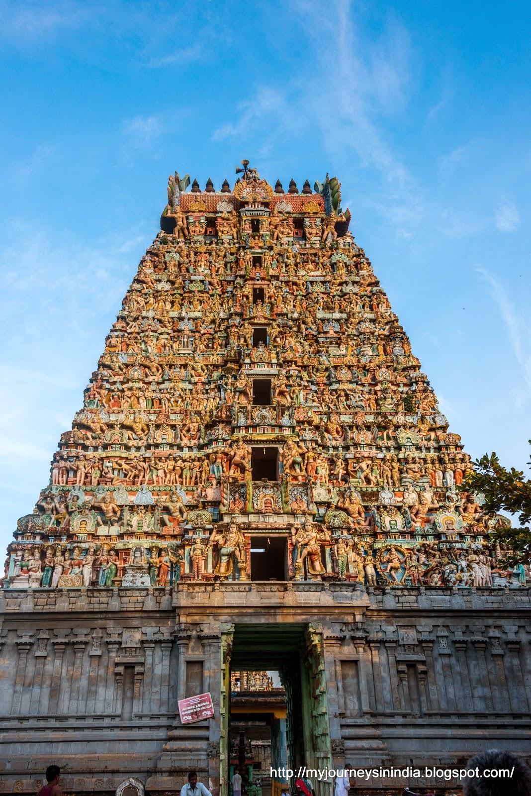 Thiruppanandal ArunaJadeswarar Temple Tower