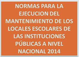 NORMAS TÉCNICAS 2014
