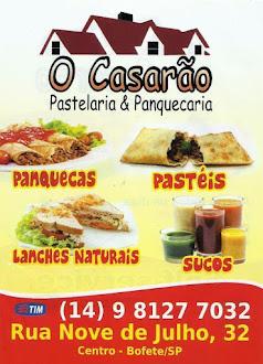 O CASARÃO Pastelaria & Panquecaria