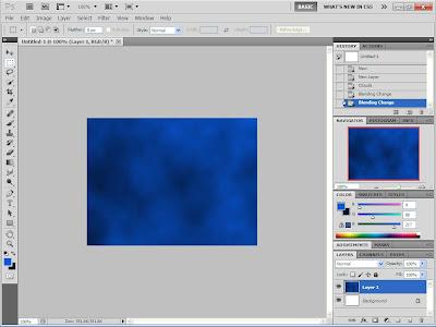 Cara Membuat Efek Fantasy Ocean Sky Dengan Photoshop