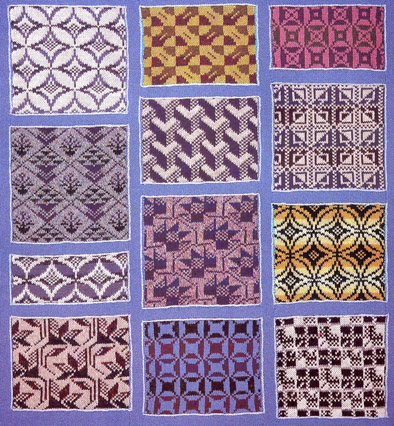 patch pic Hand Knitting Patterns