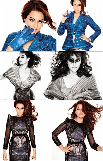 Sensational Sonakshi Sinha covers L'Officiel Magazine