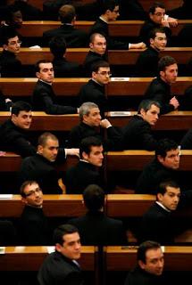 Seminaristas esperan arribo del Papa
