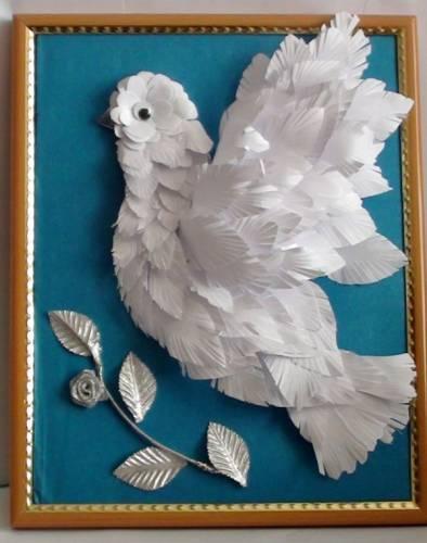 Поделки голуби своими руками мастер класс