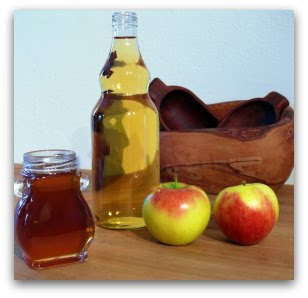 Apple Cider Vinegar helps to eliminate toxins in the blood and organs in the body.