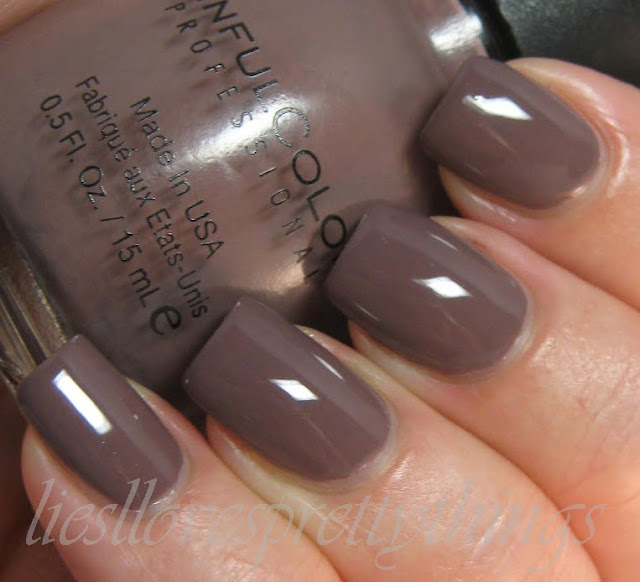 Sinful Colors Graine de Poivre swatch and review