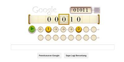 Alan Turing Doodle