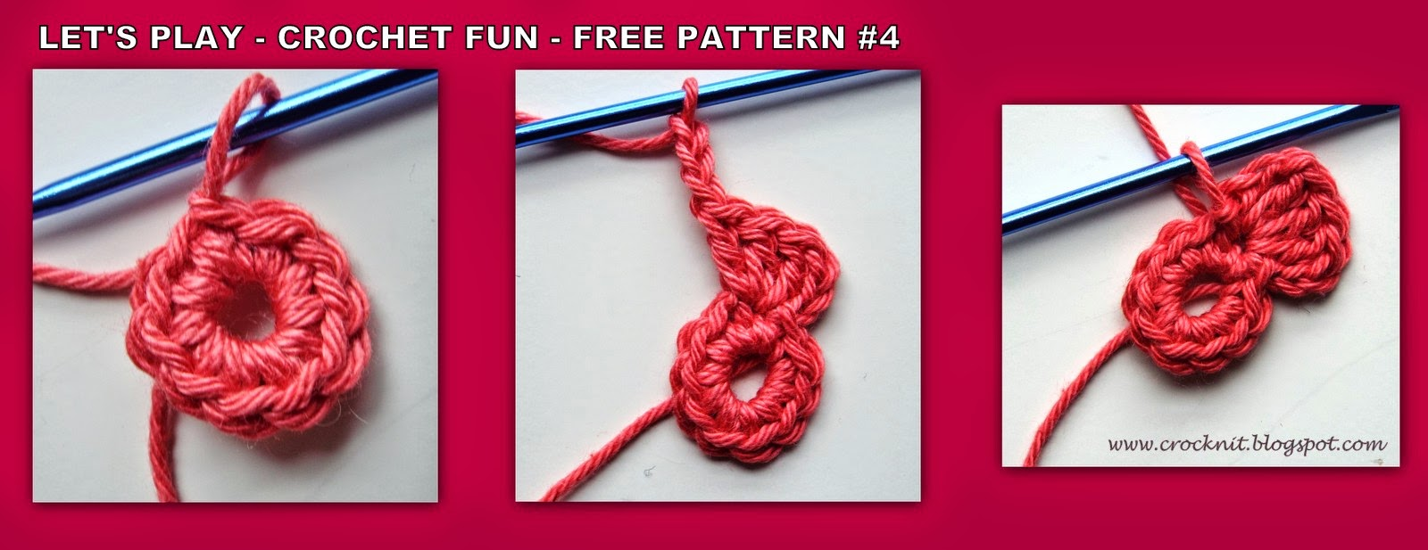 Crochet Stitch Rtrf : Rnd 4: Join yarn in any ch3-sp, *Ch3, (3tr, ch2, 3tr, ch3, sl st) in ...