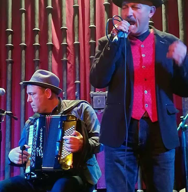 José Manuel El Patilla y Miguel Afonso