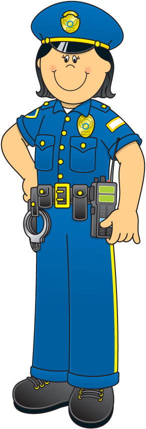 Community Helper Police Officer Clip Art