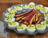Estonian Deviled Eggs
