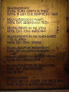 Bienaventuranzas - Catedral Cuernavaca