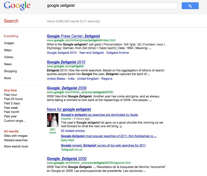 Google Zeit uk