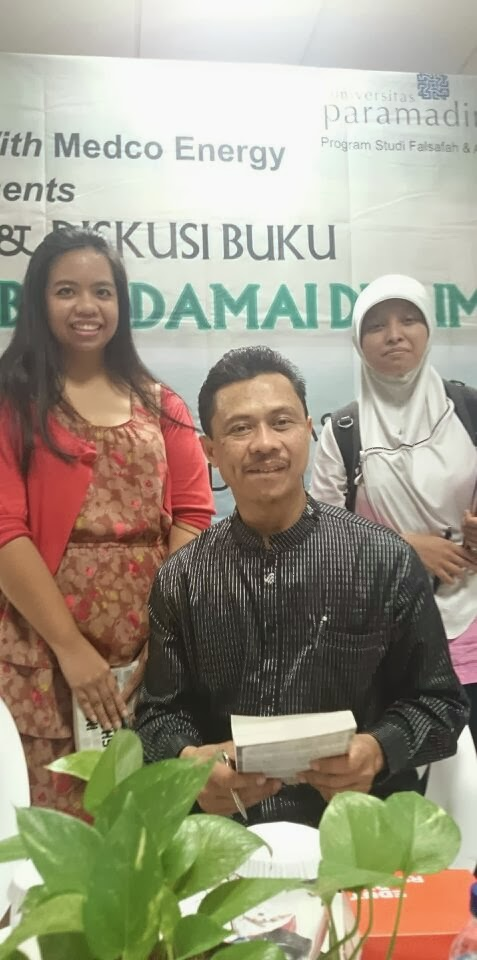 Finally, I met Ustadz Shamsi Ali, my interfaith idol.