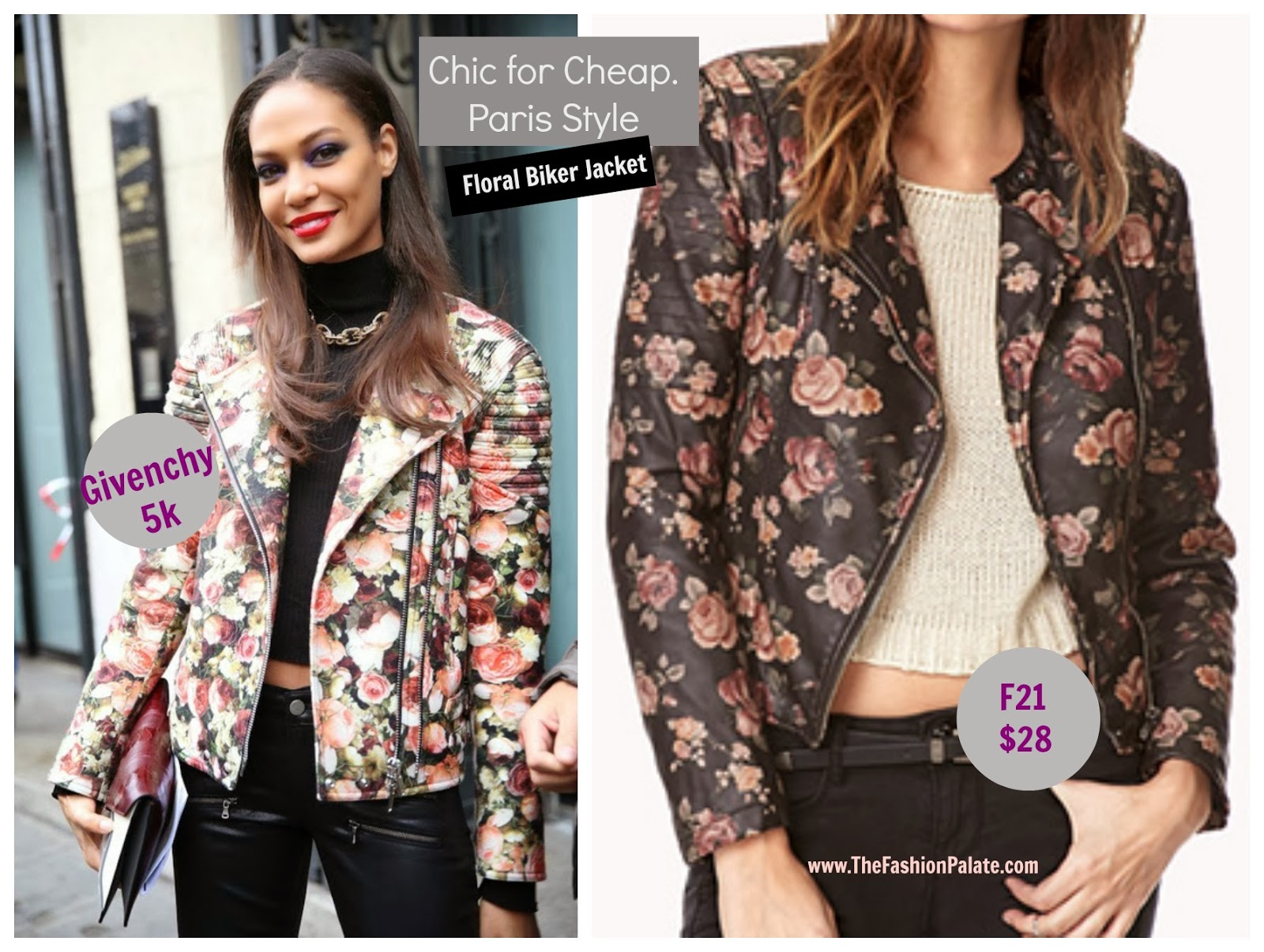 forever 21 floral moto jacket givenchy