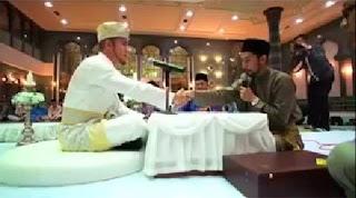 VIDEO Pengantin Tersasul Aku Terima Nikah Dengan Mas Kahwin 3 Ringgit Tunai