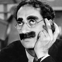 GROUCHO MARX (1890-1977)  COMEDIAN-ENTERTAINER