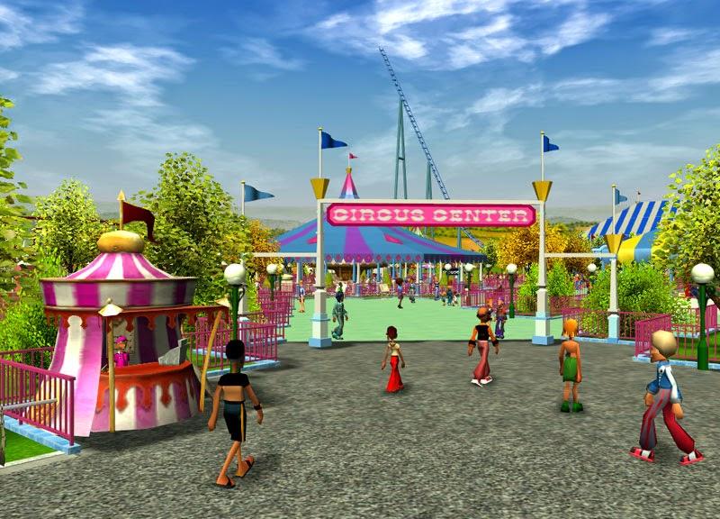 Shyguys Theme Park World Circus Center At Wonder World