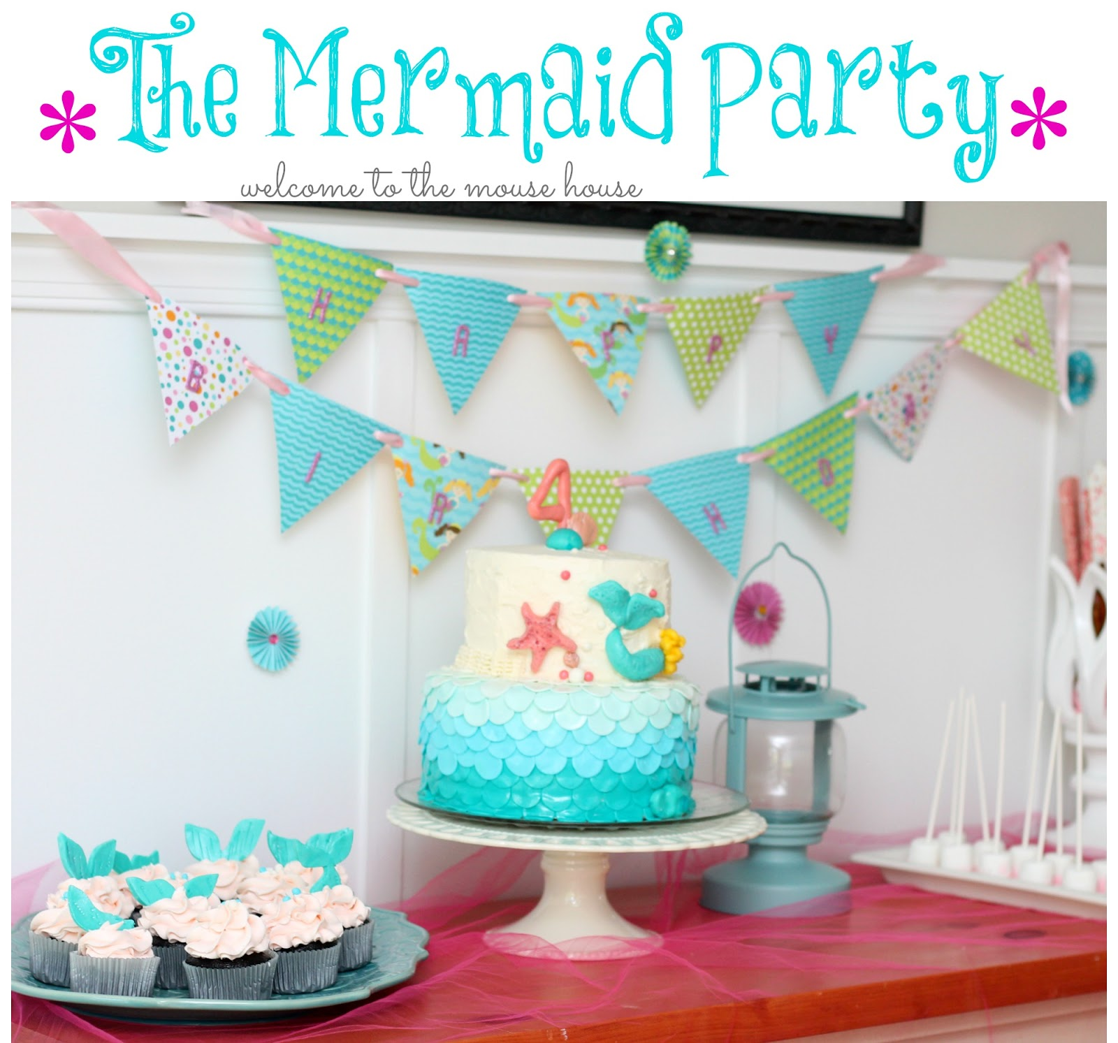 The Mermaid Birthday Party