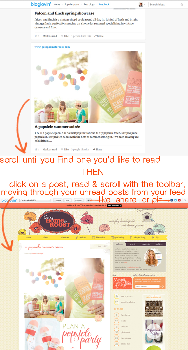 bloglovin tutorial - your favorite blogs in one place