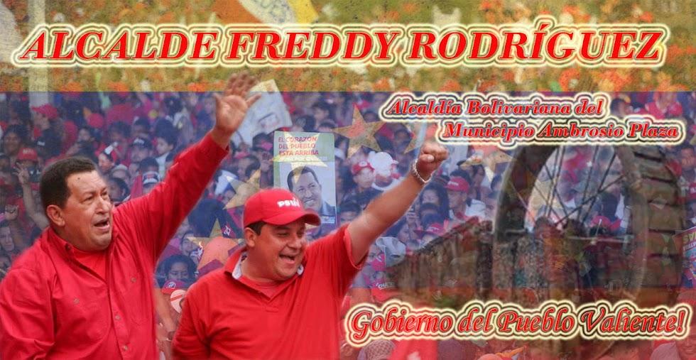 Alcalde Freddy Rodriguez