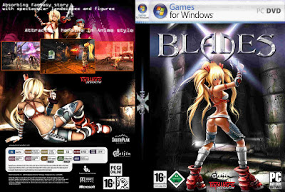 Jogo X-Blades PC DVD Capa