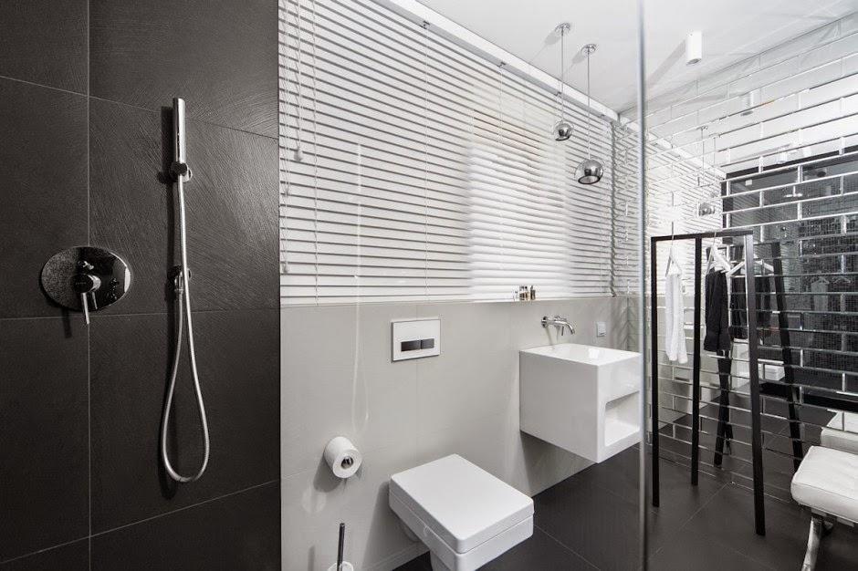 Casa d58 decoraci n interior minimalista polonia for Lujo interiores minimalistas