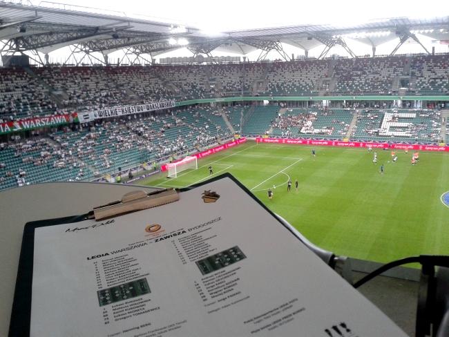 Składy drużyn - fot. Tomasz Janus / sportnaukowo.pl