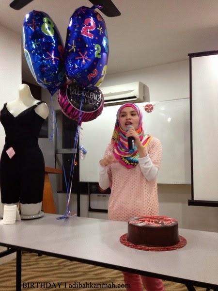 Adibah Karimah dpt surprise masa berucap dalam kelas Awesomazing Team