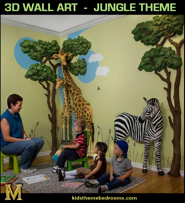 Wall Decor Jungle - Kitchen Layout and Decorating Ideas
