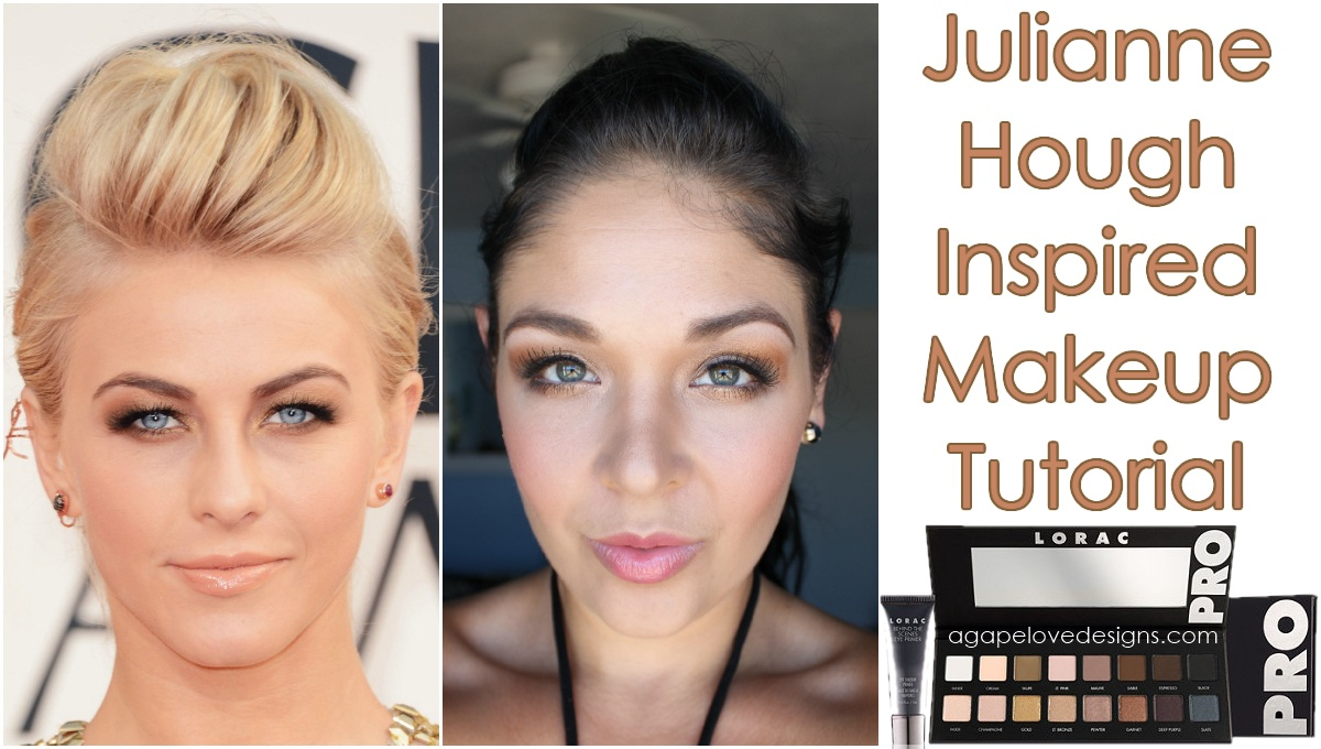 Agape love designs julianne hough inspired makeup tutorial today i am excited to share with you a celebrity inspired look that i have done in collaboration with lacie larson baditri Images