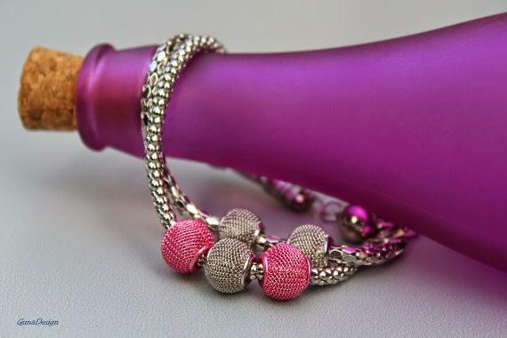 gunadesign guna andersone Mesh metal bead bracelet