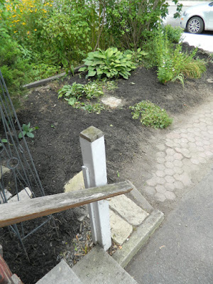 Riverdale garden clean up after Paul Jung Gardening Services Toronto