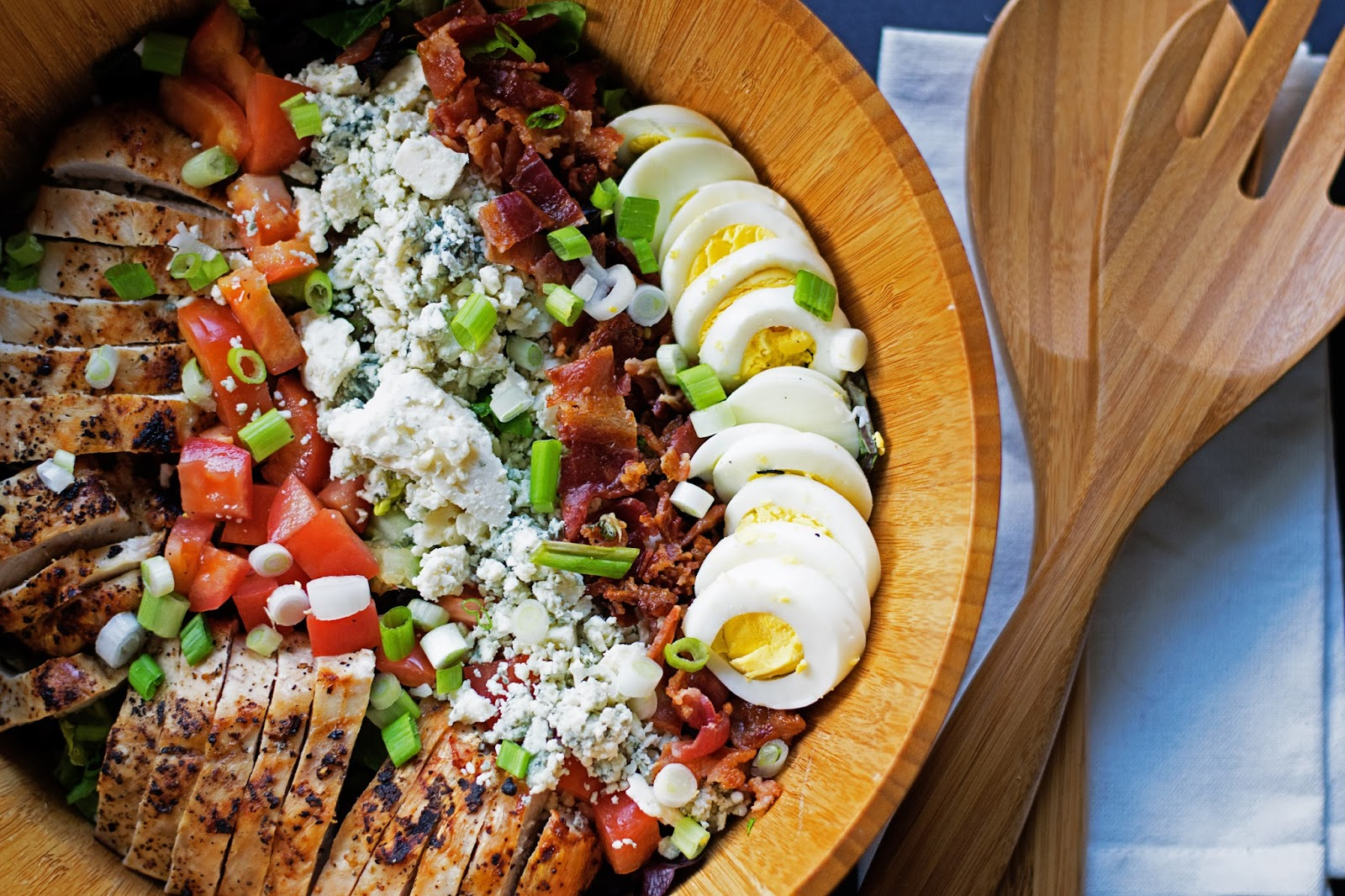 how to cook chicken for cobb salad