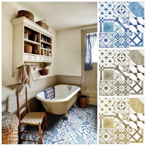 David Dangerous Patterned Bathroom Tiles Statement Walls And
