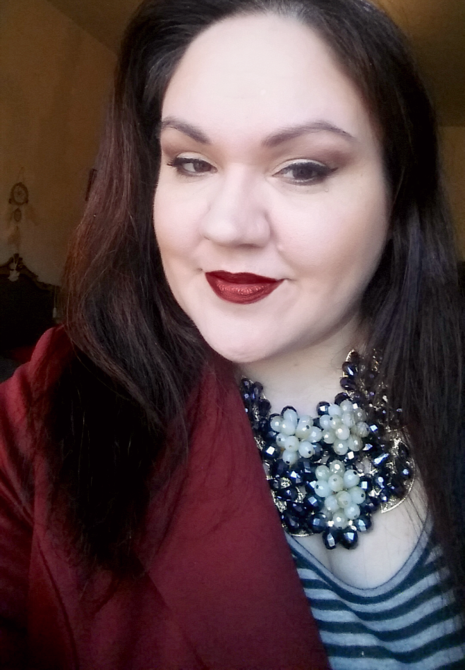 fotd ecobio con due baci nevecosmetics