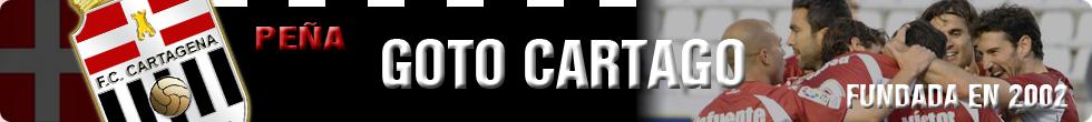 """FC Cartagena. Fútbol Club Cartagena. Efesé. Peña """"Goto Cartago""""."""