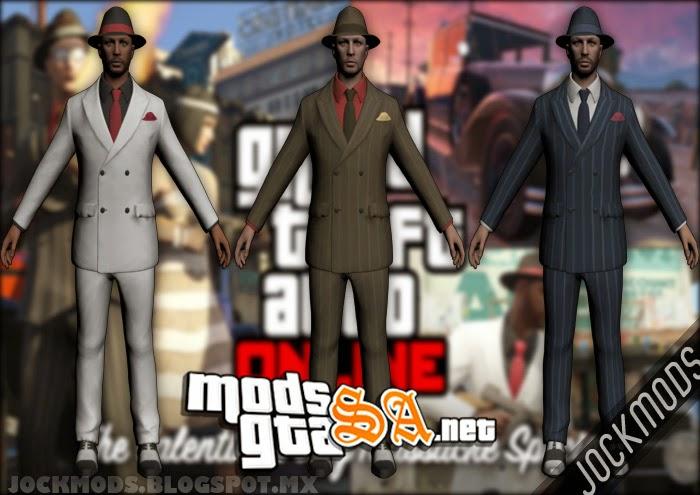 SA - Skins Valentines Day Massacre GTA V Online