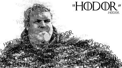 Hodor hecho con Hodors - Juego de Tronos en los siete reinos