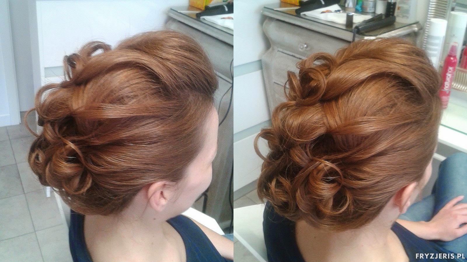 fryzura na włosach do ramion
