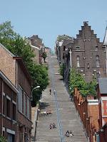 Liege stairs Montagne de Bueren