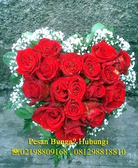 bunga ucapan kasih sayang untuk pacar