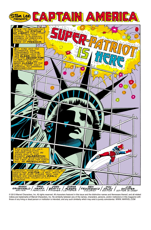 Captain America (1968) Issue #323 #251 - English 2