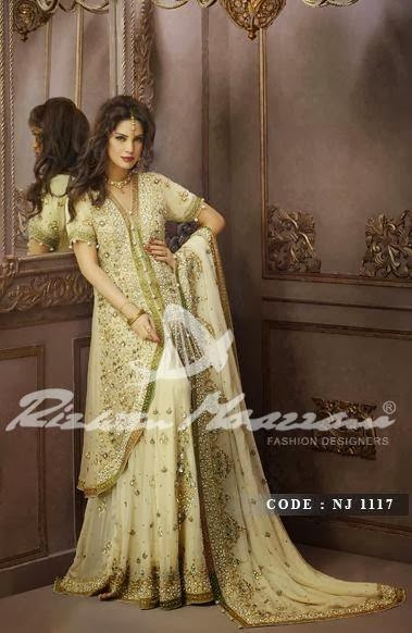Rizwan Moazzam Bridal tail designs 2014