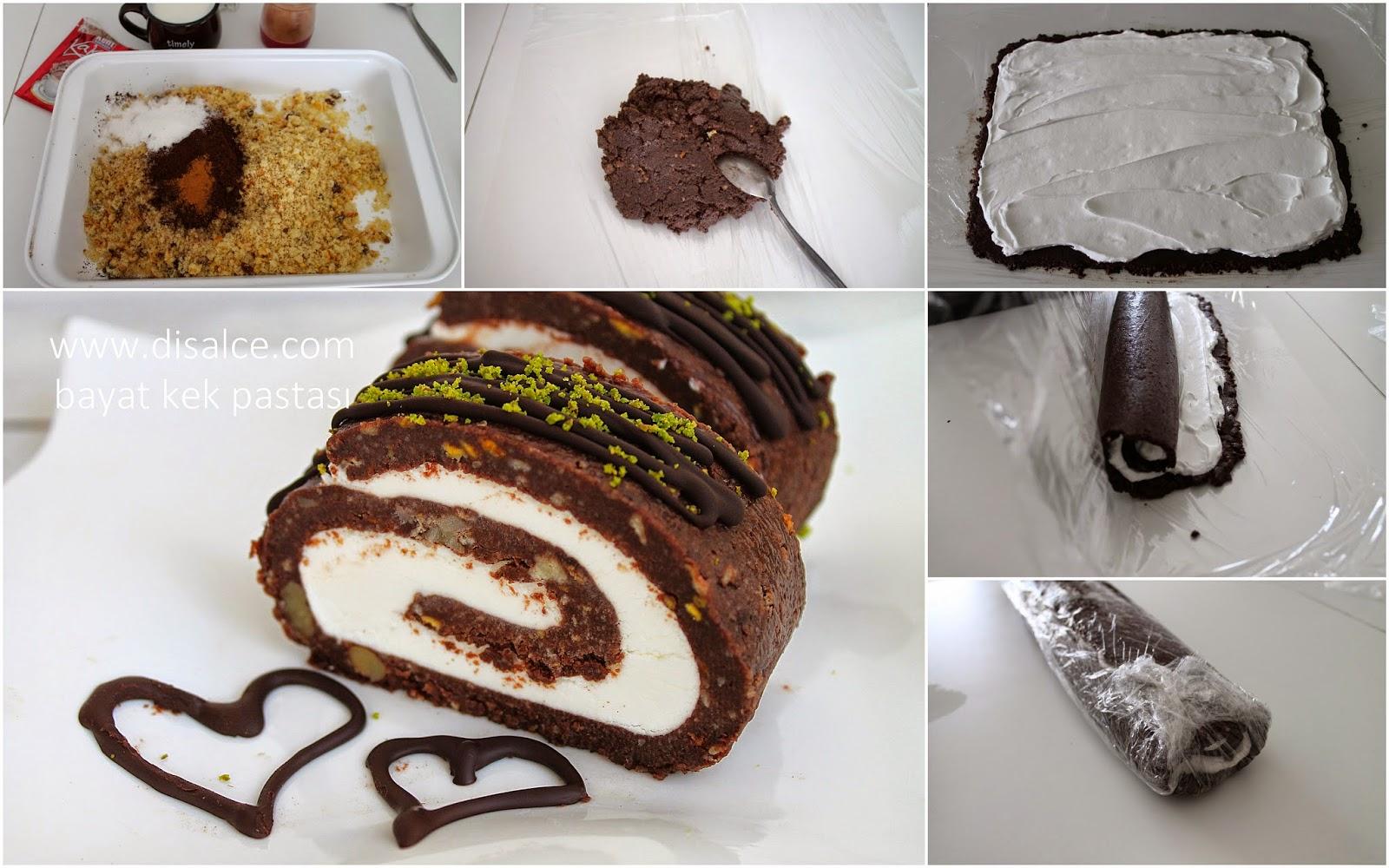 bayat kekten pasta yapımı