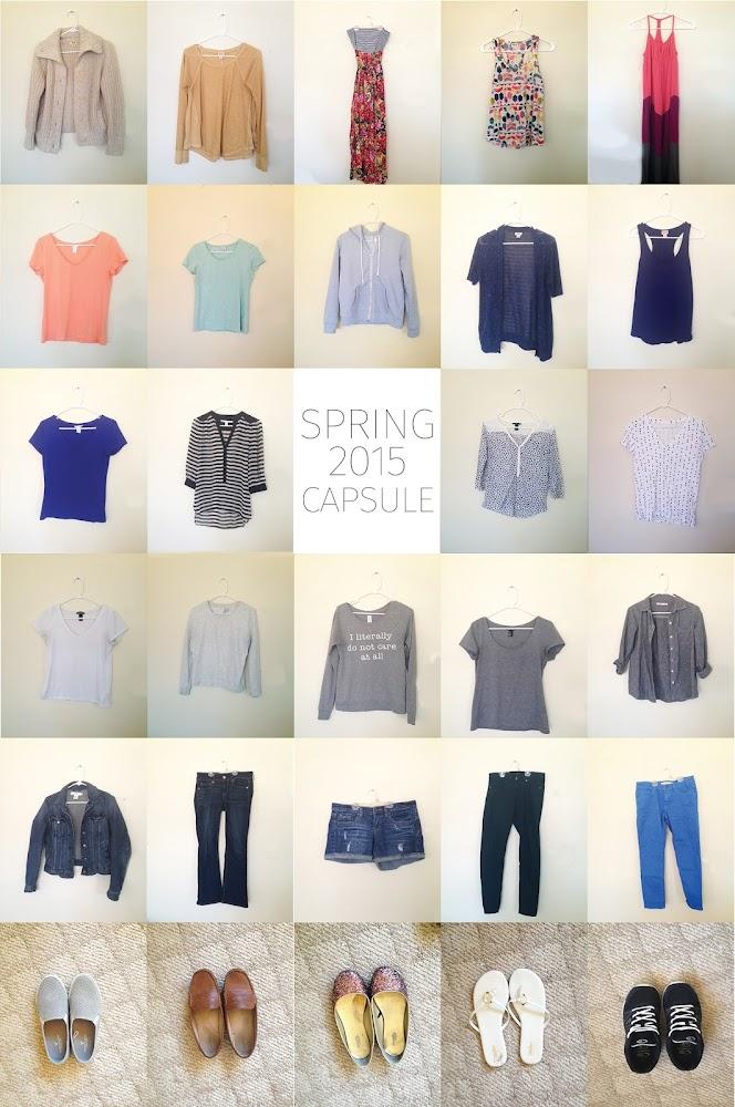 Seven Days Shop Spring Capsule Planning