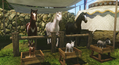 ArcheAge Лошадь породистая
