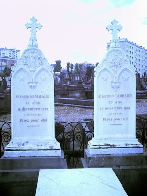 Rimbaud family tomb, Charleville Cemetery